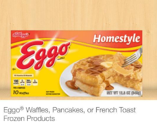 Get Eggo Waffles for as low as $.67 after Sale and Coupons