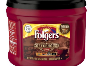 Folgers Coffee Coupon, Pay as Low as $4.99