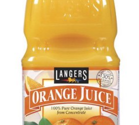 Langers Juice Coupon, Pay $0.99