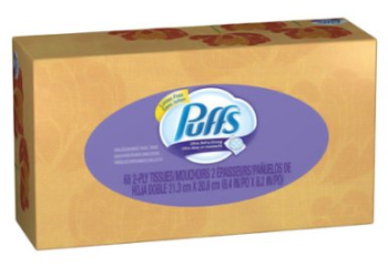 NEW Puffs Coupon, Pay $0.79 For Facial Tissue