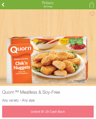 Quorn Coupon, Pay as Low as $0.74