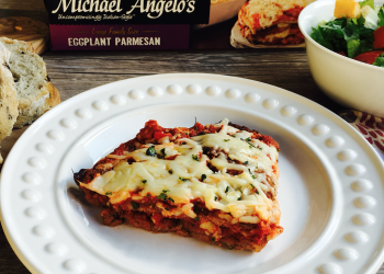 Easy Dinner Option with Michael Angelo's Signature Eggplant Parmesan