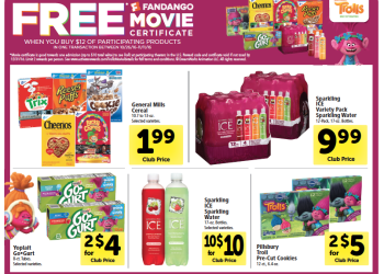 FREE Fandango Movie Certificate Promotion at Safeway