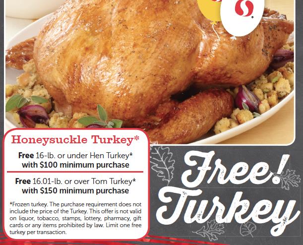 free turkey at safeway
