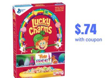 General Mills Cereal Sale – Pay as Low as $.74 for Lucky Charms after Coupons
