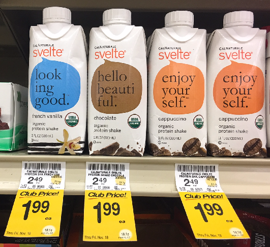 Svelte Coupon, Pay $0.99 for an Organic Plant-Based Protein Shake