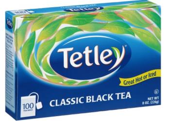 Tetley Tea Coupon, Pay $0.99