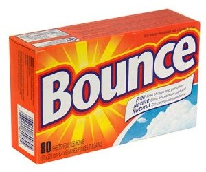 Bounce Fabric Softener- $2.99 with Coupon