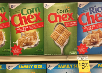 Chex Cereal Deal, Pay as Low as $1.25