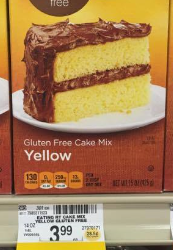 Gluten Free Cake Mix, Only $1.99