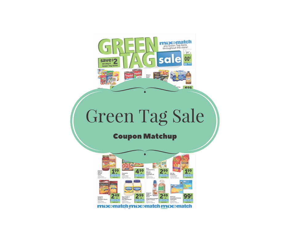 Safeway Green Tag Sale and Coupon Matchup - Buy 4, Save $2