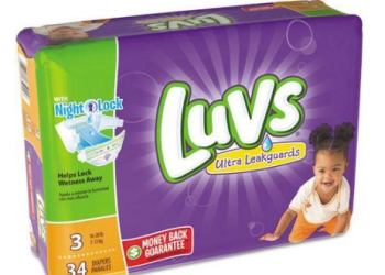 LUVS Diapers Just 10¢ Each With LUVS Coupon and Sale