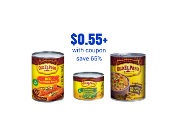 Old El Paso Coupons, Pay as Low as $0.55