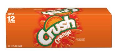Sierra Mist, Schweppes, and Crush 12 Packs - As Low as $1.97