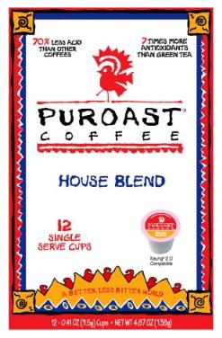 Save 75% on Puroast K-Cups, Pay $2.24