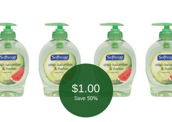 $1.00 for Softsoap Hand Soap at Safeway
