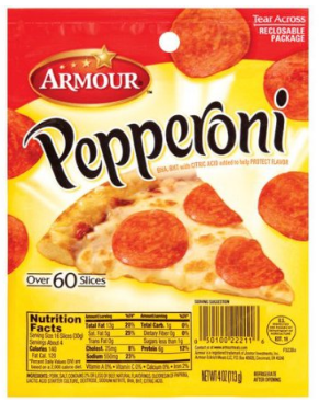 Armour Pepperoni - Less Than a Buck