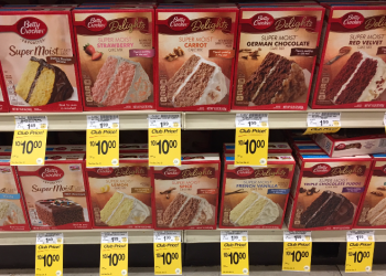 FREE Betty Crocker Cake or Brownie Mix