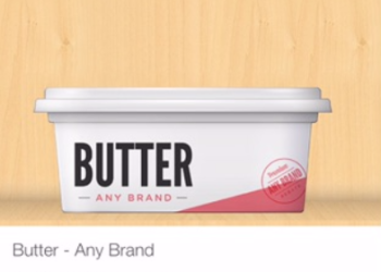 Pay as Low as $1.75 for Lucerne Butter