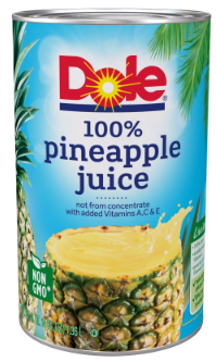 Dole Pineapple Juice Coupon - Pay as Low as $0.99, Save Up to 74%