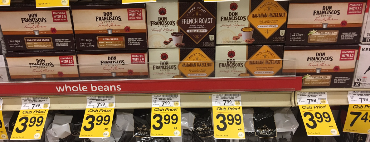 Save 75% on Don Francisco's K-Cups - Pay $1.99