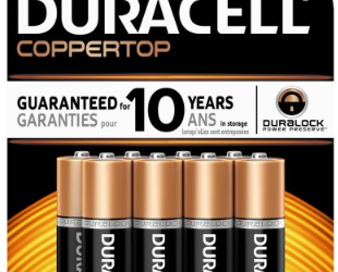 Duracell Batteries (2 – 8 Pack) for $3.50