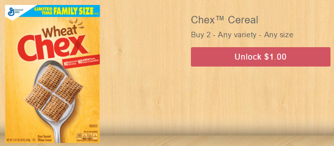 Chex Cereal Deal - Save Up To 63%