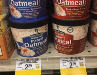 Save 50% on Glutenfreeda Instant Oatmeal