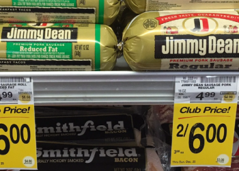 Jimmy Dean Coupon and Sale – Pay $2.00 for Sausage Rolls