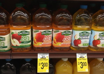 Old Orchard Juice Just $1.00 – Save 67%