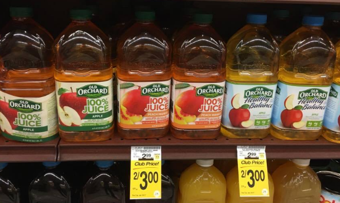 Old Orchard Juice Just $1.00 - Save 67%