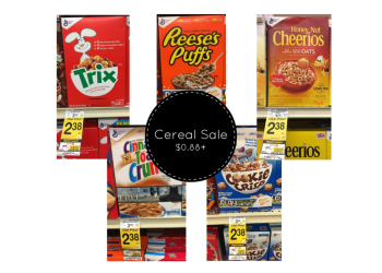 NEW General Mills Cereal Coupon - Pay as Low as $0.88
