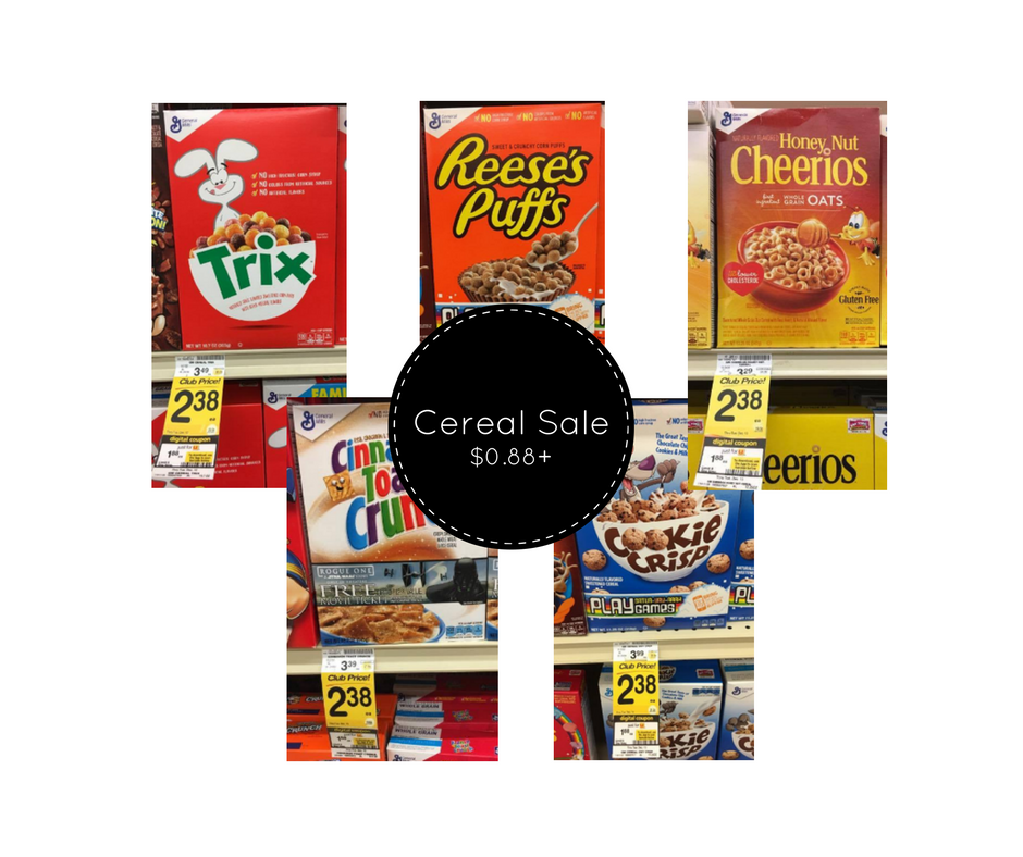 NEW General Mills Cereal Coupon