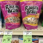 kellogg's raisin bran granola cereal