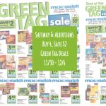 Safeway Green Tag Sale