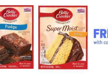 betty crocker brownie mix