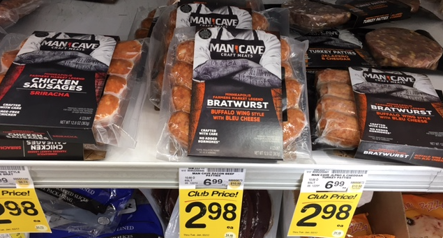 Man Cave Craft Eats All In One : Man cave craft meats just at safeway super
