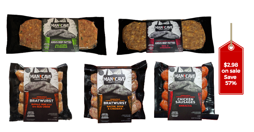 Man Cave Craft Eats Safeway : Man cave craft meats just at safeway super
