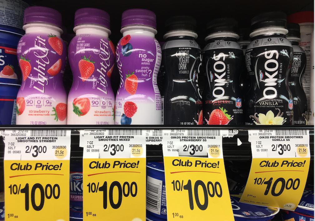 Get 6 Dannon Oikos Or Light Amp Fit Yogurt Drinks Just 50