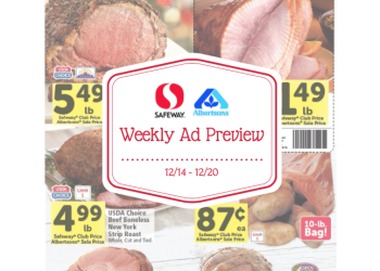 safeway weekly ad preview 12/14