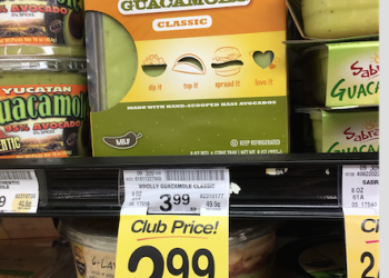 New Wholly Guacamole Coupon and Sale – Pay just $1.99 at Safeway