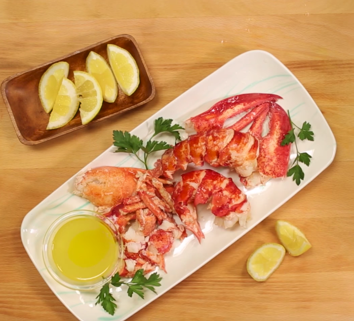 how to steam whole lobster