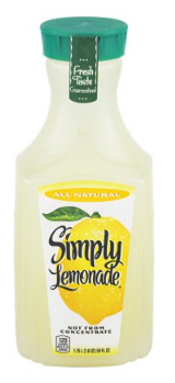 Save 50% on Simply Lemonade - Pay Just $1.50