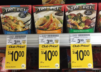 Tai Pei Entrees – Just a Buck, Save 75%