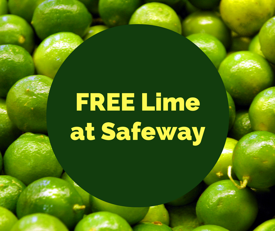Fresh Lime For FREE at Safeway After The Deal