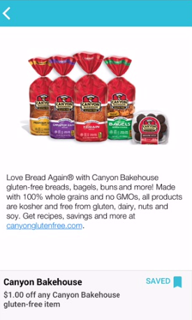 Canyon Bakehouse Gluten Free Bread Coupon, Pay as Low as $2.49 - Save 58%