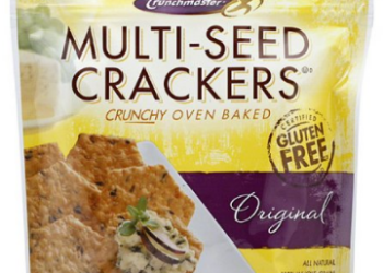 Gluten Free Crunchmaster Crackers – Pay as Low as $1.84