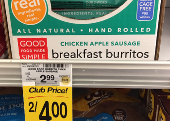 Good Food Made Simple Breakfast Burritos, Only $1.00 – Save 67%