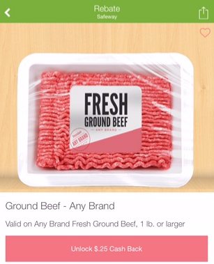 Ground Beef on Sale at Safeway - First Pound for As Low as $1.74