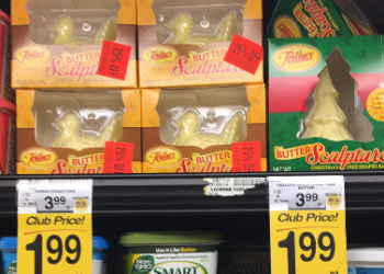 Keller's Butter Sculpture Sale – Pay as Low as $1.49